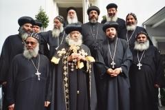 2006 Juni Papst Schenouda III Besuch in München